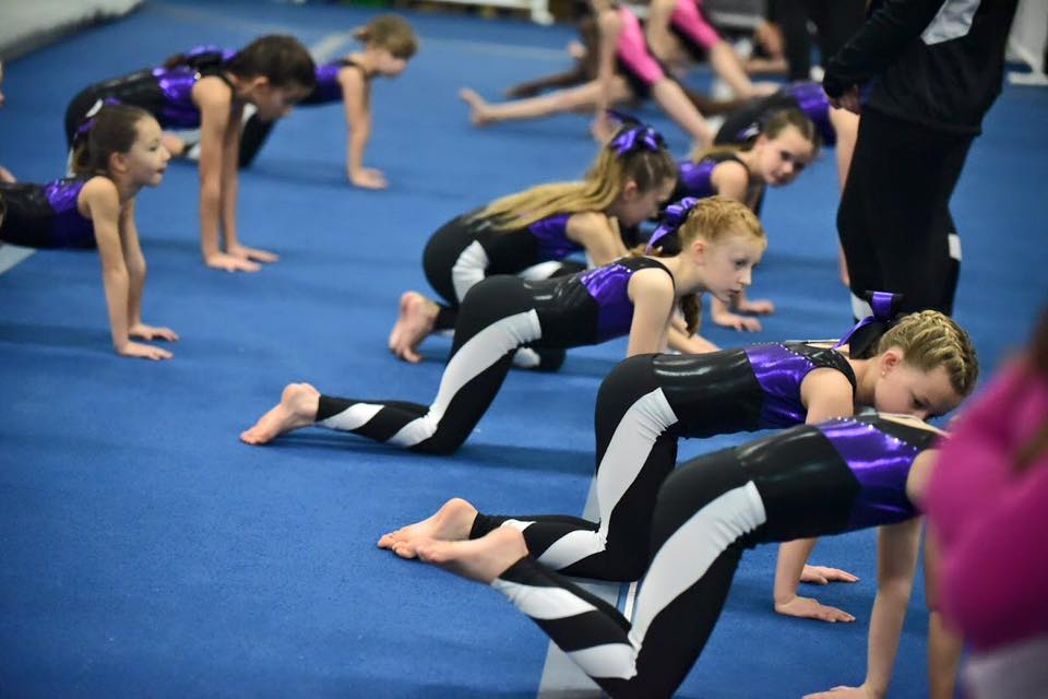 alpha omega gymnastics meet