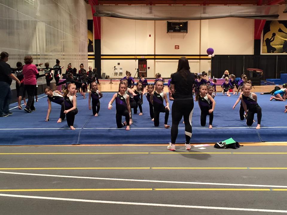 level 4 gymnastics meet january 2016