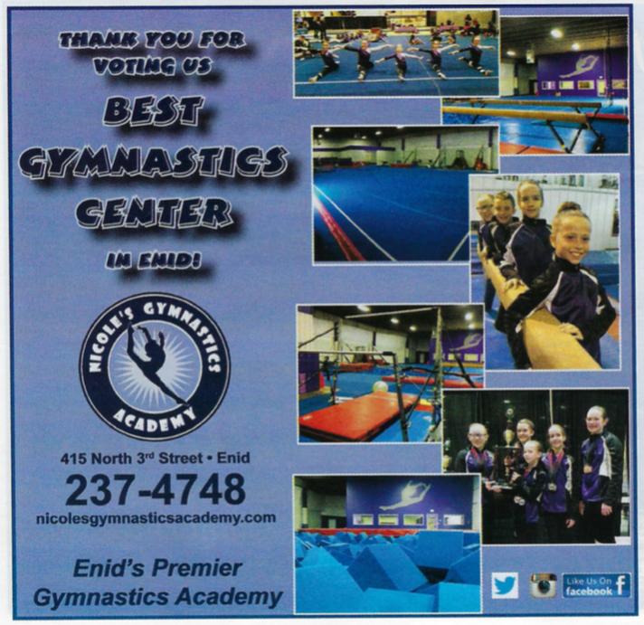 Enid's Best Gymnastics